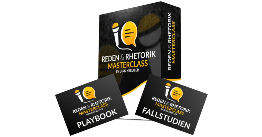 "Onlinekurs ""Reden Rhetorik Masterclass Dirk KReuter"